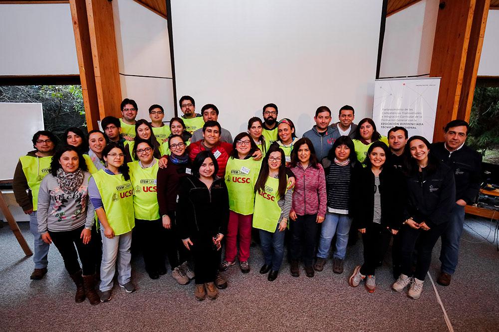 UCSC inició programa de fortalecimiento de competencias e integración curricular en colegios técnicos